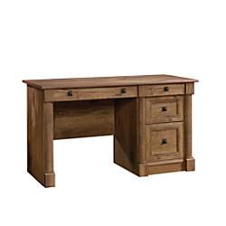 Sauder Palladia Computer Desk Vintage Oak