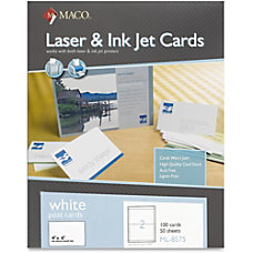 MACO Micro perforated LaserInk Jet Post