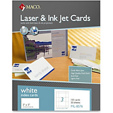 MACO Micro perforated LaserInk Jet Unruled