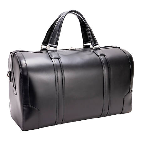 McKlein L-Series Kinzie Duffel Bag, Black