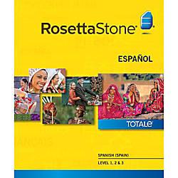 Rosetta Stone Spanish Spain Level 1