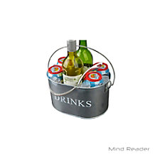 Mind Reader Beverage Holder With Bottle