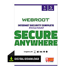 Webroot Internet Security Complete 2018 For