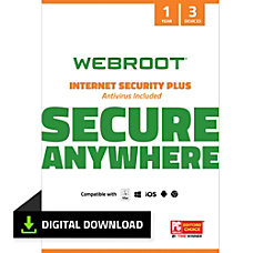Webroot Internet Security Plus 2018 For