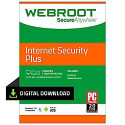 Webroot Internet Security Plus 2018 1