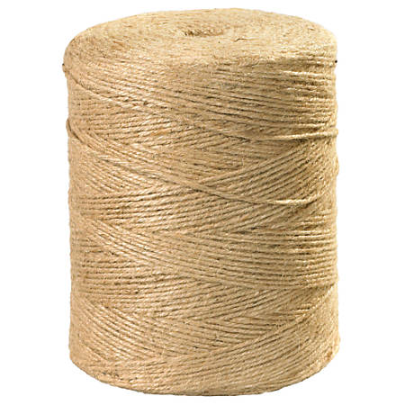 Office Depot® Brand Jute Twine, 4 Ply, 110 Lb, 3,700', Natural