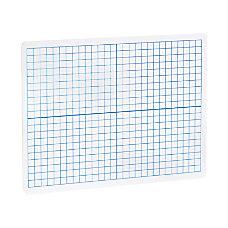Flipside XY AxisPlain Dry Erase Graph