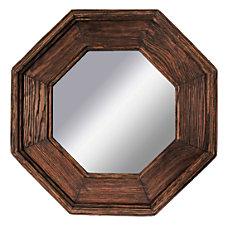 PTM Images Framed Mirror Octagonal 18