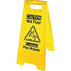 Genuine Joe Universal Graphic Wet Floor