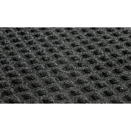 Waterhog Low-Profile Floor Mat, 4' x 6', Charcoal