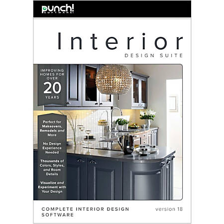 Punch Software Interior Design Suite V18 Download By Office Depot Officemax