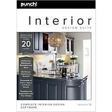 Punch Software Interior Design Suite V18