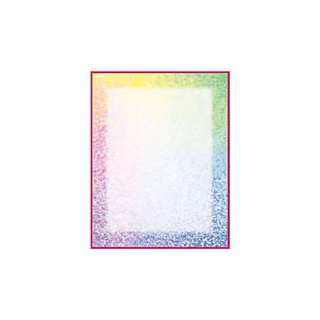 "Gartner™ Studios Design Paper, 8 1/2"" x 11"", 60 Lb, Watercolor Border, Pack Of 100 Sheets"