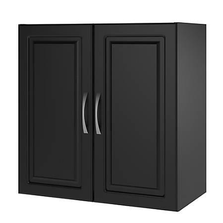 "Ameriwood™ Home Kendall 24"" Wall Cabinet, 1 Adjustable Shelf, Black"