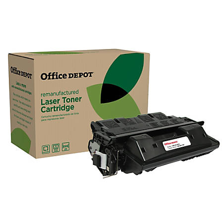Office Depot® Brand OD61EHY Remanufactured Extended High-Yield Toner Cartridge Replacement For HP61X Black