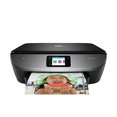 HP ENVY Photo 7155 Wireless Color Inkjet All in One Photo Printer with  Mobile Printing (K7G93A) Item # 784550