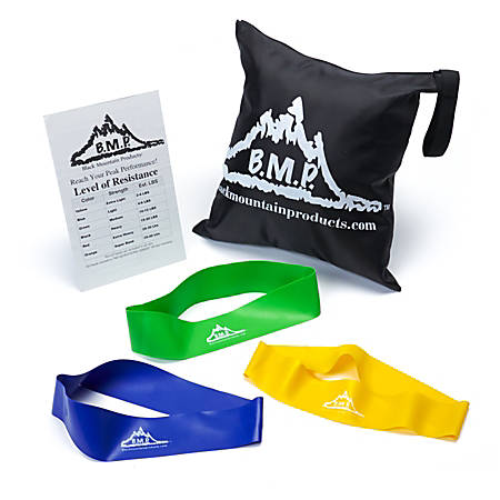 Black Mountain Products™ Resistance Loop Band Set, Multicolor