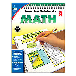 Carson Dellosa Interactive Notebook For Math