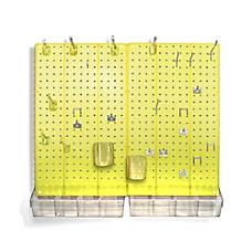 Azar Displays 70 Piece Pegboard Organizer