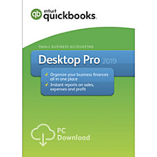 QuickBooks Desktop Pro 2019 Download Version