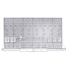 Azar Displays 125 Piece Pegboard Organizer