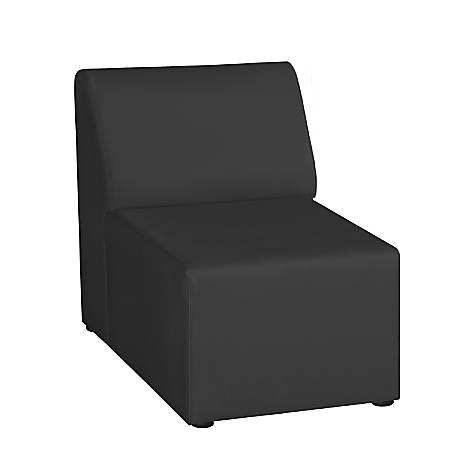 "Marco Single Chair, 29.5""H, Black"