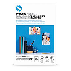 HP Everyday Photo Paper 4 x
