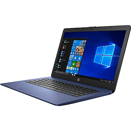 "HP Stream 14-ds0000 14-ds0090nr 14"" Notebook - 1366 x 768 - A-Series A4-9120e - 4 GB RAM - 64 GB Flash Memory - Windows 10 Home in S mode - AMD Radeon R3 Graphics - BrightView - Bluetooth - 8.25 Hour Battery Run Time"