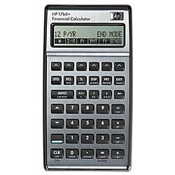 HP 17bII Financial Algebraic Calculator