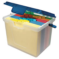 Office Depot Brand Portable File Box