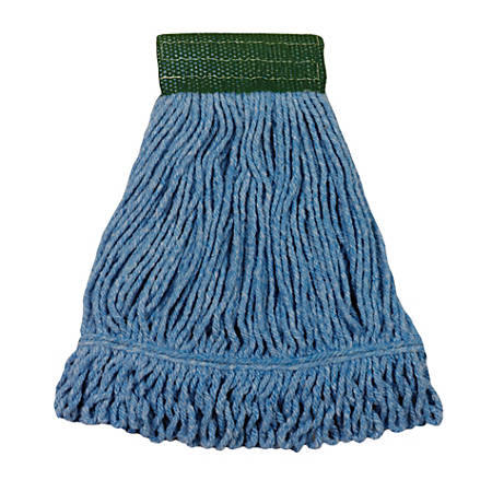 Wilen Cleaning Products Bulldog Cotton Mop, Blue