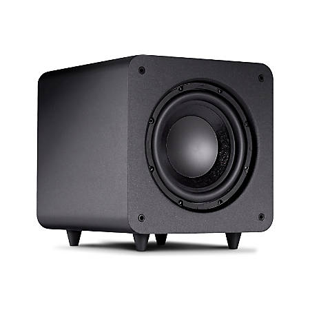 Polk Audio PSW111 300W Compact Powered Subwoofer, Black