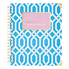 Emily Ley Simplified Trellis WeeklyMonthly Hardcover