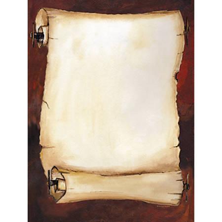 "Gartner™ Studios Design Paper, 8 1/2"" x 11"", 60 Lb, Antique Scroll, Pack Of 100 Sheets"