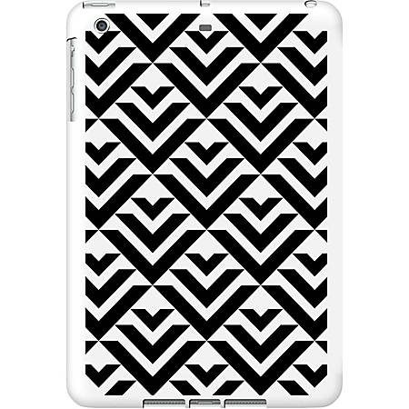 OTM iPad Air White Glossy Case Black/White Collection, Arrows - For iPad Air - Arrows - Black, White - Glossy