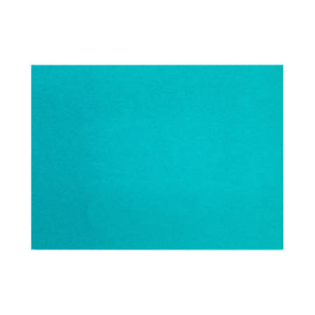 """LUX Flat Cards, A9, 5 1/2"""" x 8 1/2"""", Trendy Teal, Pack Of 50"""