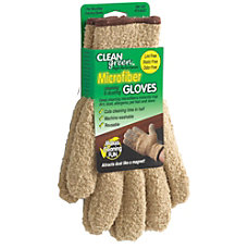 CLEANgreen Microfiber Cleaning Dusting Gloves