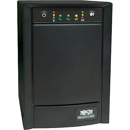 Tripp Lite UPS Smart 750VA 500W International Tower AVR 230V Pure Sine Wave C13 USB DB9 - 750VA/500W - 7 Minute Full Load - 6