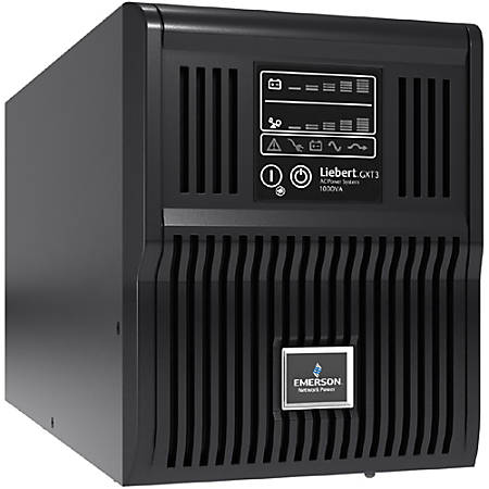 Vertiv Liebert GXT3 1000VA UPS, Mini-Tower Model, UL/c-UL Listed, 120VAC  (GXT3-1000MT120) - 1000VA/900W - 5 Minute Full Load - 6 x NEMA 5-15R Item #
