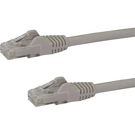 StarTech.com 20ft Gray Cat6 Patch Cable with Snagless RJ45 Connectors - Long Ethernet Cable - 20 ft Cat 6 UTP Cable