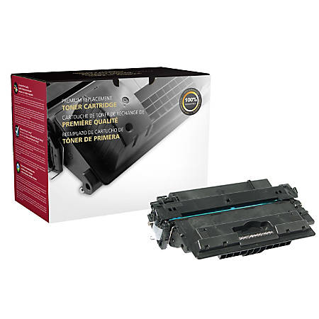 Clover Technologies Group 200685P Remanufactured High-Yield Toner Cartridge Replacement For HP 14X Black