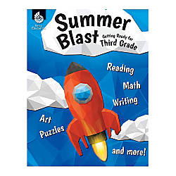 Shell Education Summer Blast Activity Book