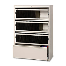 Lorell Fortress Series 42W 4 Drawer