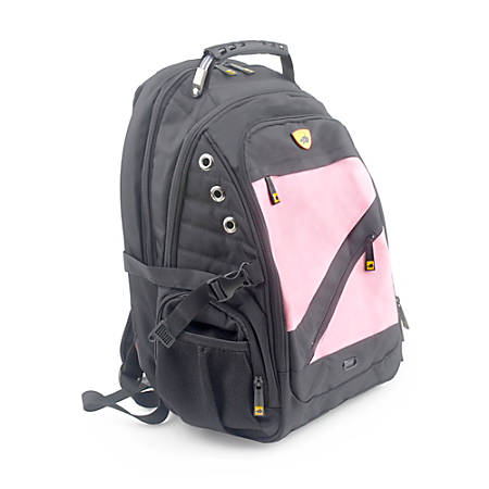Guard Dog Security ProShield II Tactical Laptop Backpack, Pink/Black