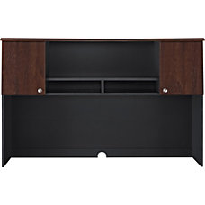 Altra The Works Fiberboard Hutch CherrySlate