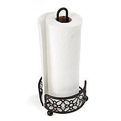 Mind Reader Freestanding Metal Paper Towel