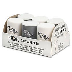 Office Snax Mini Salt Pepper Set