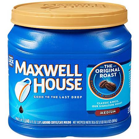 Maxwell House® Coffee, Medium Roast, 30.6 Oz Can