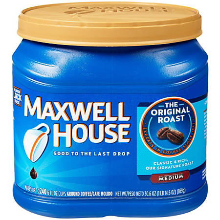 Maxwell House Coffee, 30.6 Oz Container