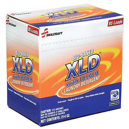 SKILCRAFT® Bio-Based XLD Laundry Detergent, 214 Oz., Pack Of 2